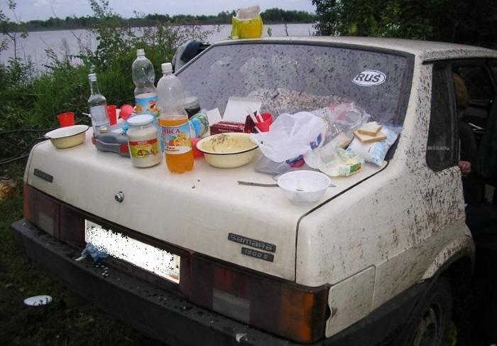 Русские на отдыхе