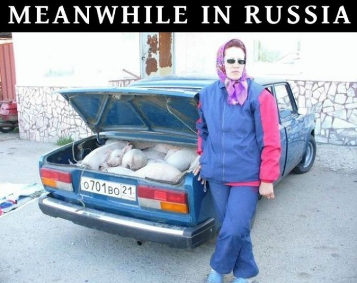 Тем временем в России: 100 колоритных фото