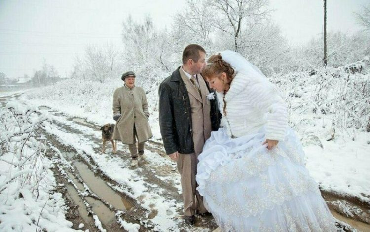 деревенская свадьба