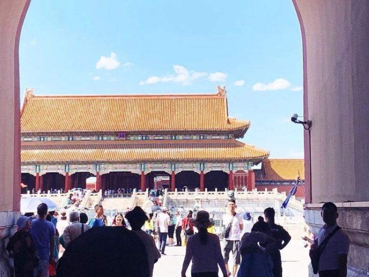 Real'nost' Purpurnyy zapretnyy gorod Pekina