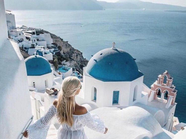 Instagram Santorini