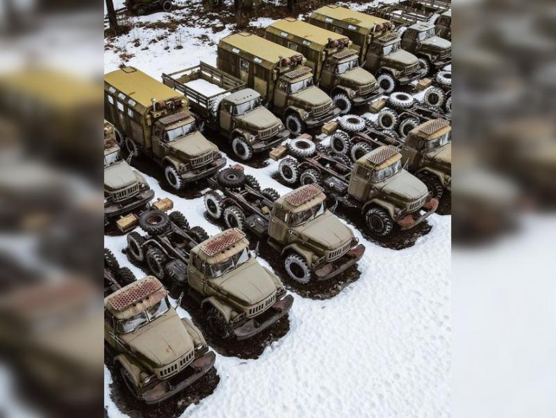 Военная техника, гниющая на полигонах всего мира: 30 фото